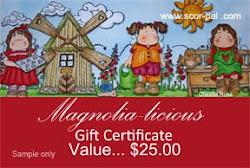 Magnolia $25 givaway