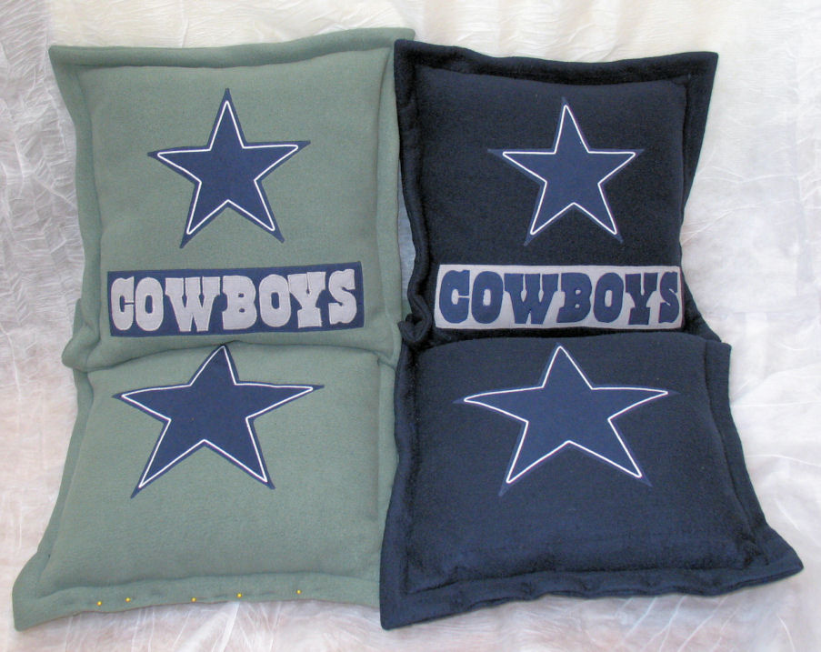 Dallas Cowboys Coordinating Pillow Sham From The Locker Room | Short ...