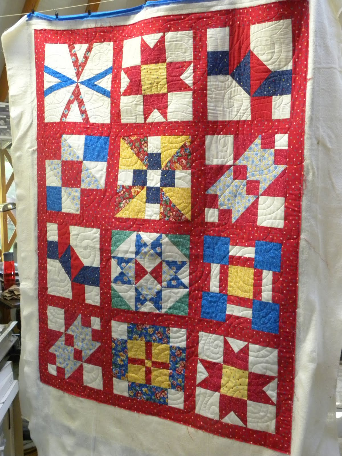 Crazy Horse Quilting: Military Quilts
