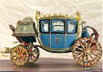 Gilded Napoleonic Coach Replica