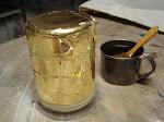 24kt Gilded Glass Beaker