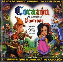"""Banda Sonora de la Película """"Corazón las alegrías de Pantriste"""""""