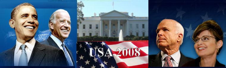USA 2008 - Guida in aggiornamento alle primarie e alle presidenziali USA 2008