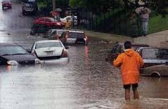lluvias en todo el territorio nacional