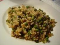 Mum's 'rice, peas & raisins', Barcelona