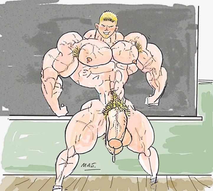 muscle matt porn