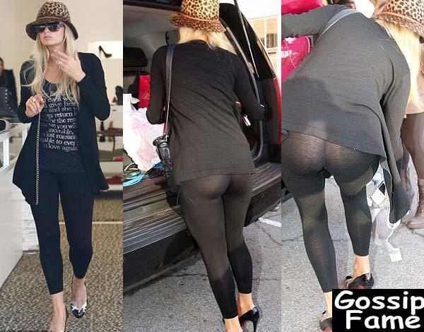 Paris Hilton estava fazendo