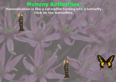 Papillons momies