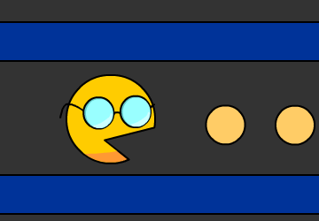 Pac Man lunettes