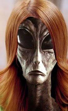Extraterrestre femelle
