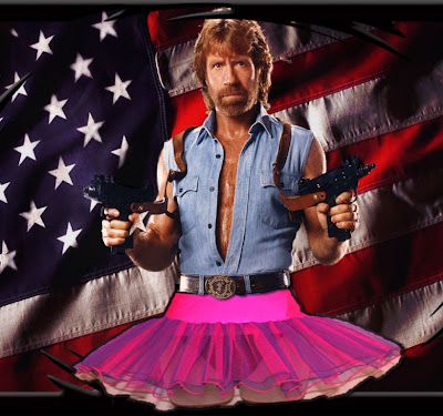 En hommage a BRUTUS .... Chuck+Norris+en+tutu