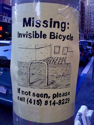 Vélo invisible
