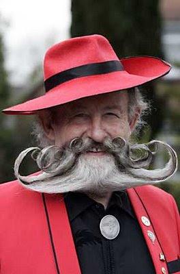 Moustache fractale