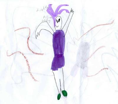 Extraterrestre dansant