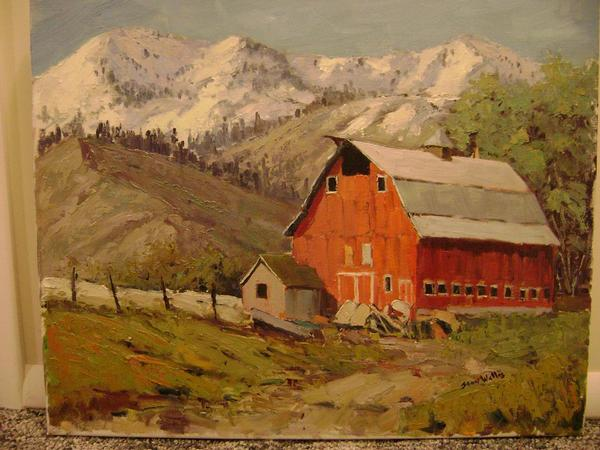 Wellsville Red Barn