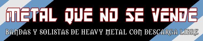 Metal Que No Se Vende (Blog de descargas legales)