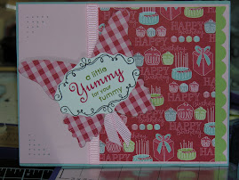 """Yummy"" Sell-a-Bration Card"