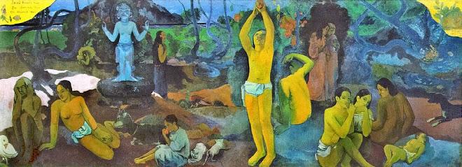 ¿De donde venimos, que somos, a donde vamos? GAUGUIN, 1897