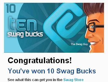 Swagbucks.com 1268154447112 FREE Swag code in swag bar (14 swagbucks)!