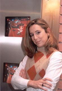Alexandra Borges Em Estágio Na Tv Globo