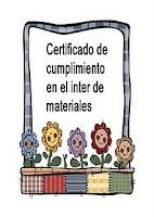 Mi certificado de Cumplimiento con Evelyn de la Frontera de Jerez