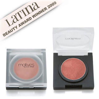 Motives by Loren Ridinger pressed eye shadow in red earth