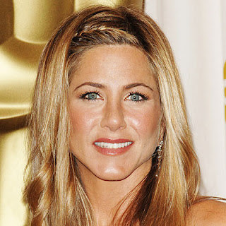 Jennifer Aniston with braids
