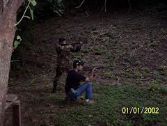 Tiro Fusil AR 15 y AK 47