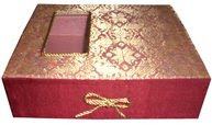 Songket Box with gold rope