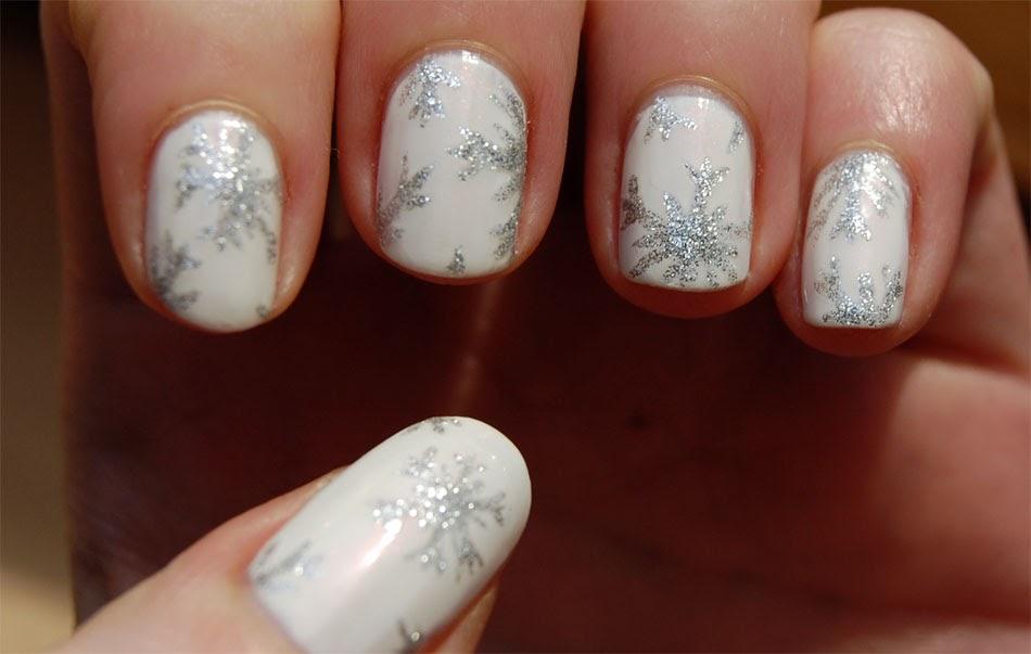 posh parties winter wedding nails