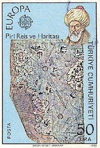 Piri Rais map