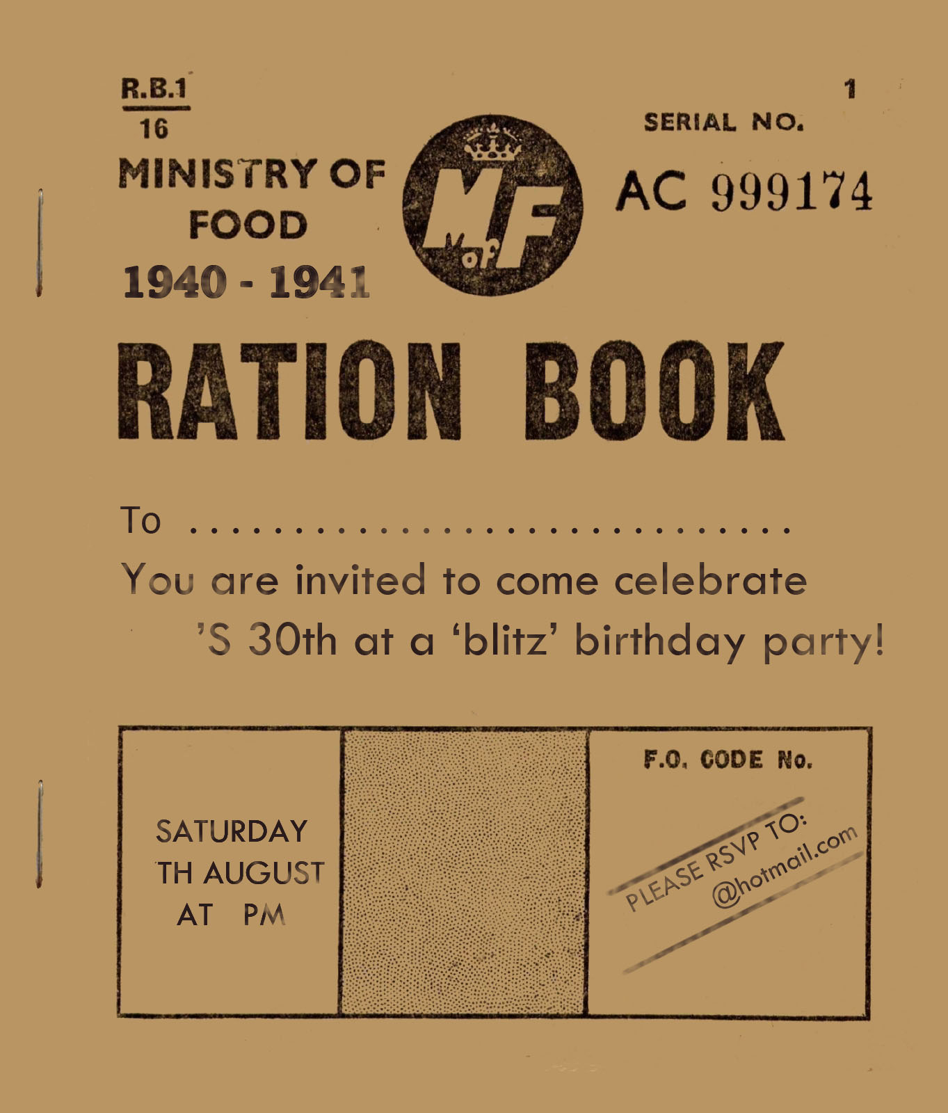70Th Birthday Party Invites is perfect invitation layout