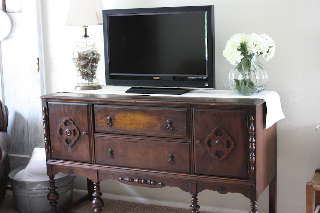 antique buffet. Black Bedroom Furniture Sets. Home Design Ideas