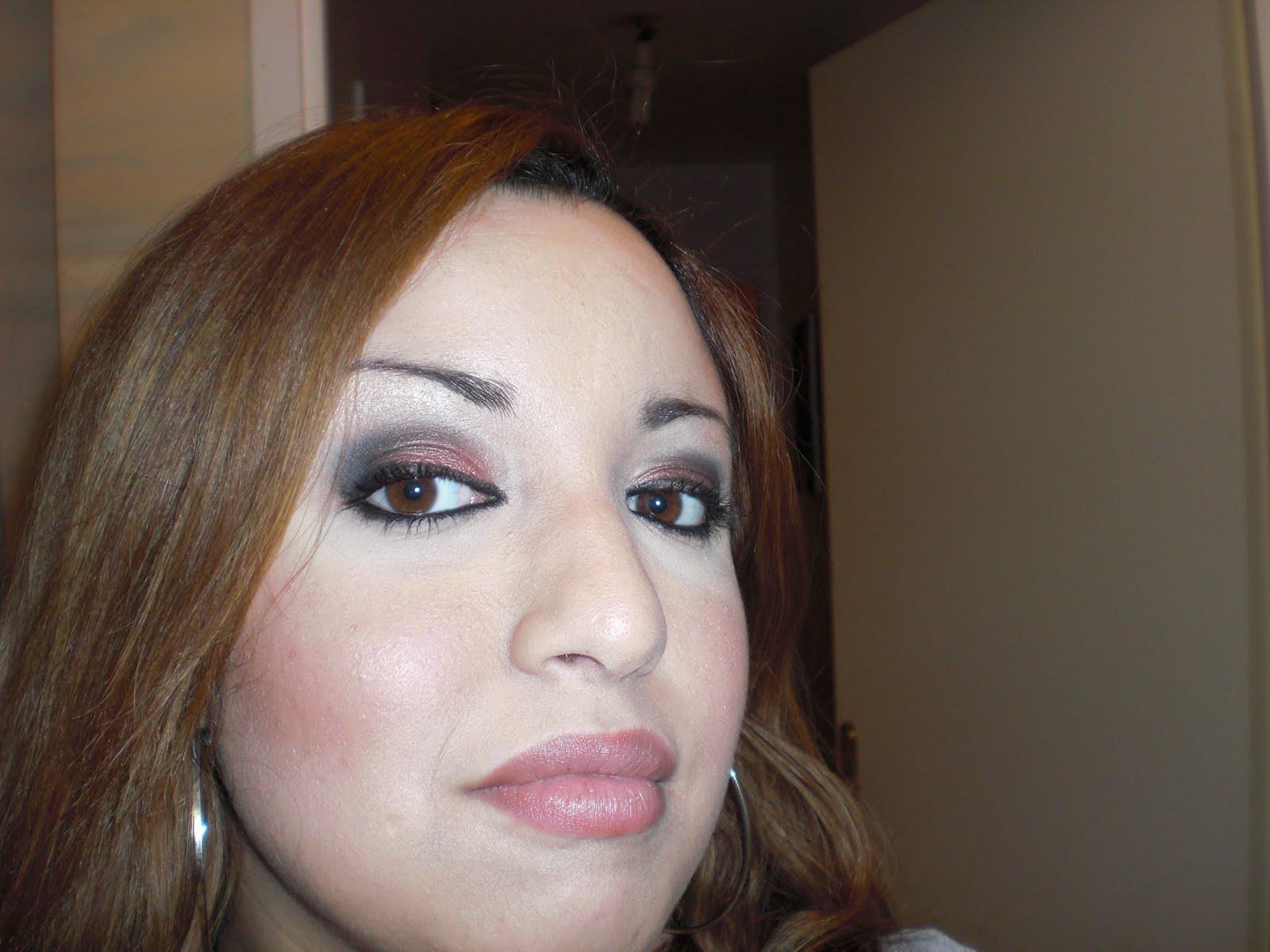 Big dolls boudoir maquillage du soir smoky eyes - Maquillage smoky eyes ...