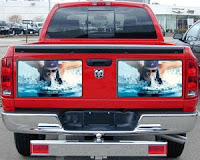 Dodge Ram with dual LCD (prototype)