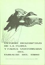 Estudio descriptivo de la flora y fauna vertebrada del embalse del Ebro