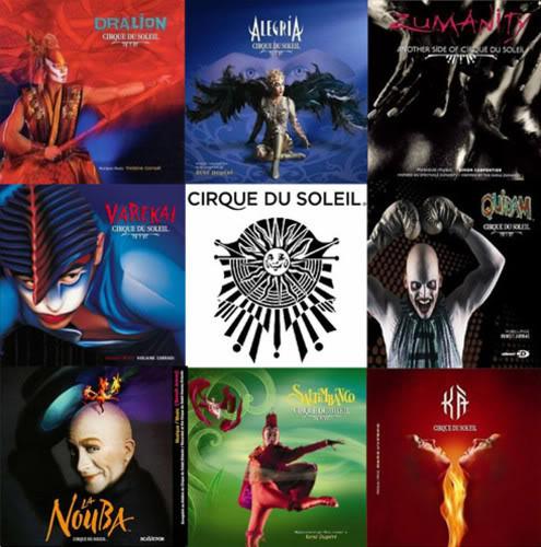 Los mejores actos del Cirque Du Soleil.. Espectacular!!