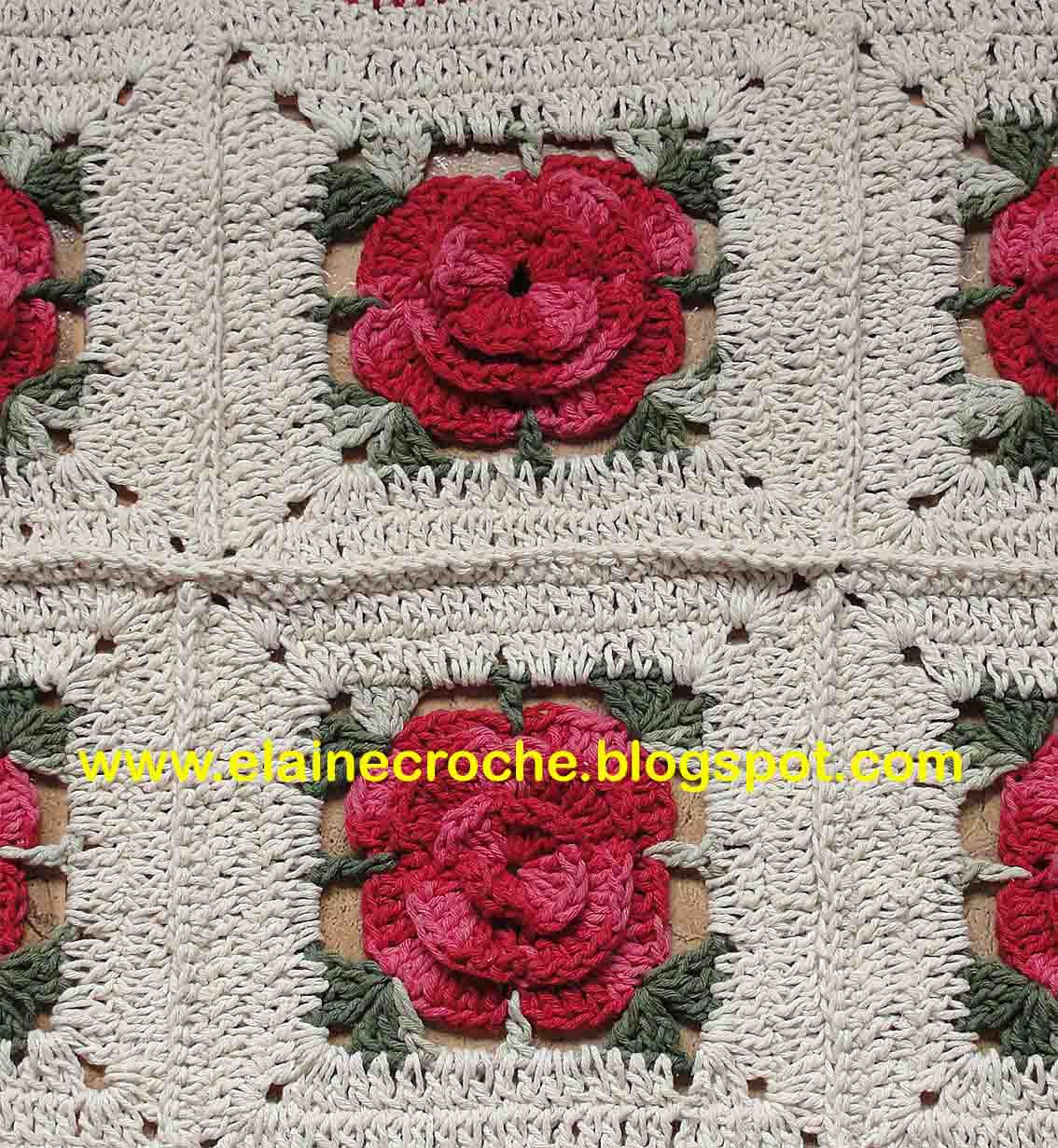 Tapetes de croche tapete em barbante com grafico flores for Tapetes de crochet