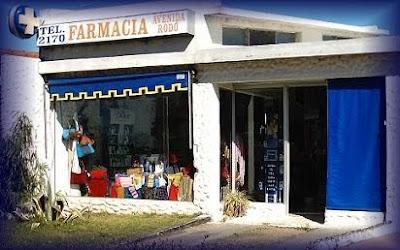 Farmacia en la avenida