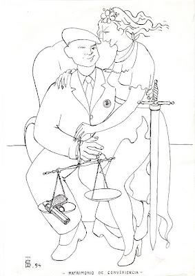 Matrimonio de conveniencia, de Salvador Manzanera