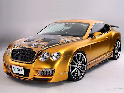 Continental Acura on Bentley Continental Asi W66 Gts Gold 01 Bentley Continental Asi W66