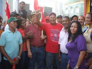peledeistas y Reformistas Caravanean y realizan mano a mano en el Centro de la Ciudad