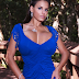 Wendy Fiore in Blue Dress