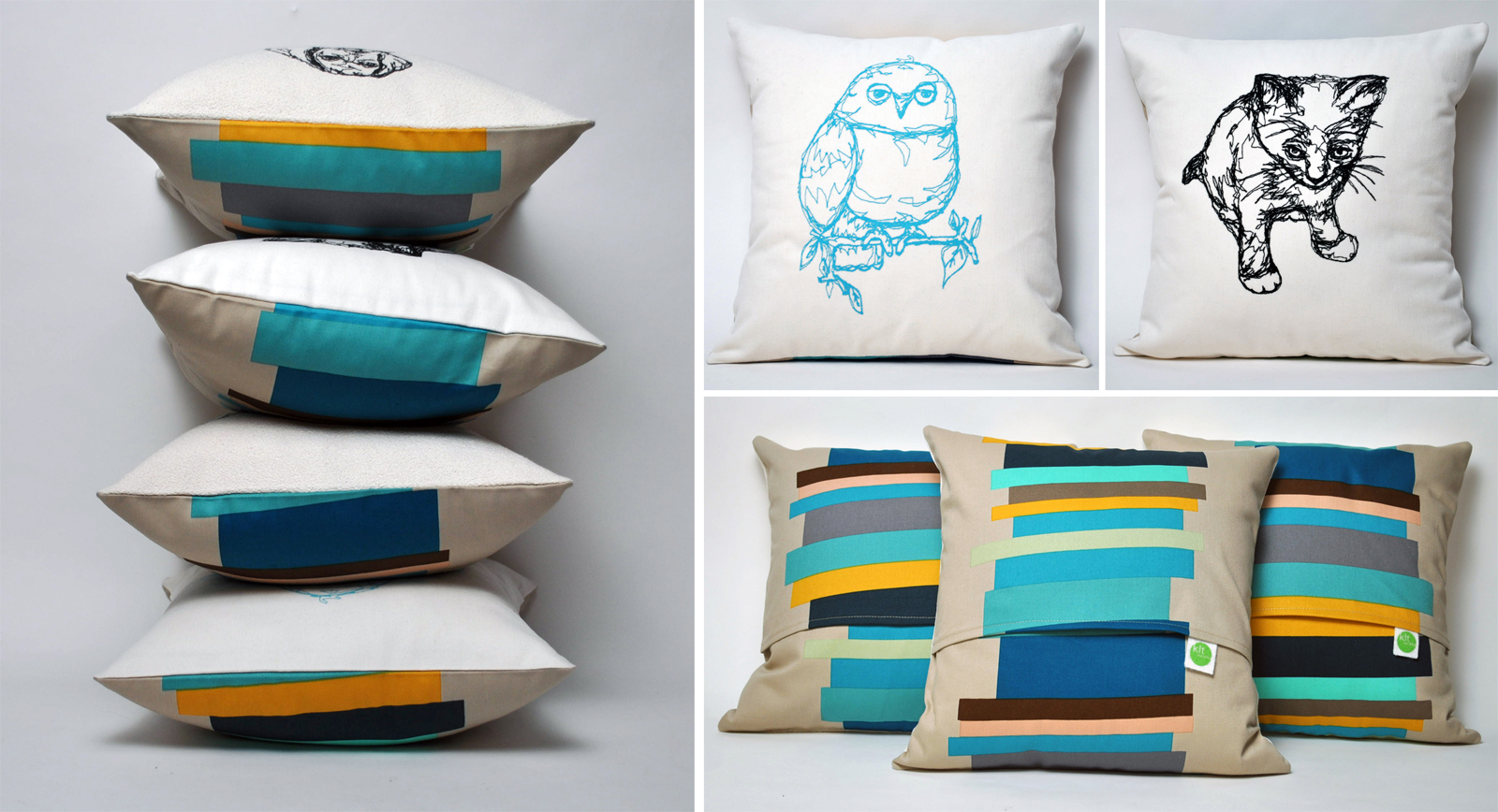 how to set up bed with european pillows