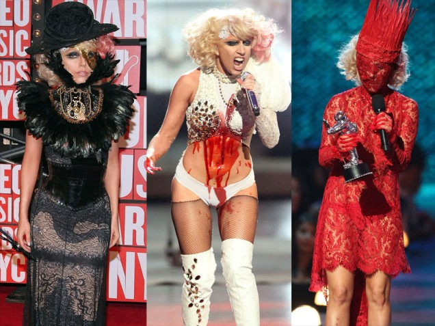 Lady Gaga 2009 Fashion