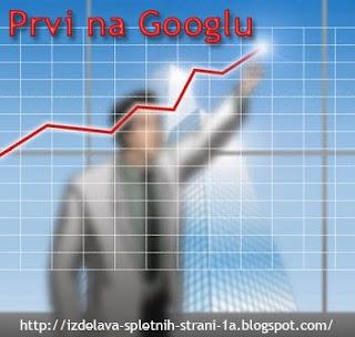 Prvi na Googlu