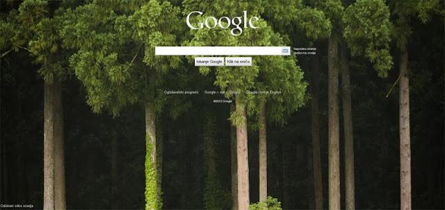 Google ozadje