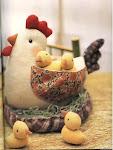 galinha de bolso