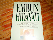 EMBUN HIDAYAH - ANTOLOJI CERPEN BERSAMA - CERPEN-CERPEN YANG MENANG HADIAH CERPEN UNSUR ISLAM