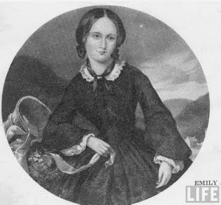 the life and literary works of emily jane bronte Emily brontë lived an eccentric, closely guarded life she was born in 1818, two  years after her sister charlotte and a year and a half before her sister anne, both .